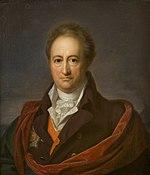 Goethe in 1808; portrait by Gerhard von Kügelgen (Source: Wikimedia)