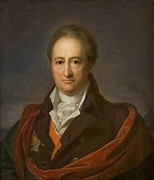Johann Wolfgang von Goethe, um 1808/1809 gemalt von Gerhard von Kügelgen (Quelle: Wikimedia)