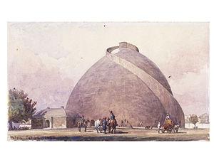 Golghar - Image: Golghar, Patna, 1888