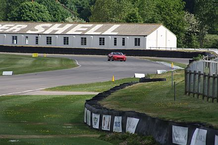 Part of Goodwood Circuit, approaching the main straight. Goodwood Circuit.jpg
