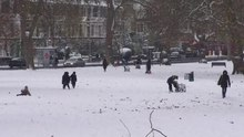 File:Goose Green SE22 in snow.ogv