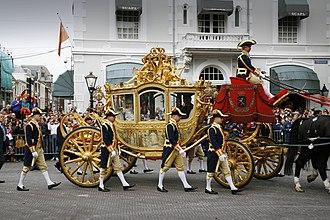 Gold coach - The Dutch Gold state coach