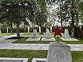 Gräber auf dem Friedhof der Roten Armee in Laa an der Thaya, Österreich.jpg