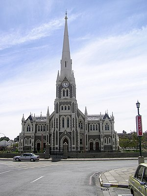 Dutch Reformed Church - The Dutch Reformed Church (Grotekerk) in Graaff-Reinet, South Africa