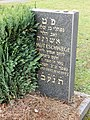 Grab von Helmut Eschwege, Neuer Jüdischer Friedhof Dresden.JPG