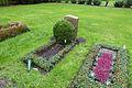 Grabstätte von Pastor Rufus Flügge, gestorben 21.04.1995, Stadtteilfriedhof Kirchrode 01.jpg