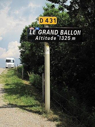 Grand Ballon - Grand Ballon, name sign
