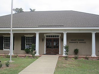 Grant Parish, Louisiana - The Grant Parish Sheriff's Office is located behind the courthouse.