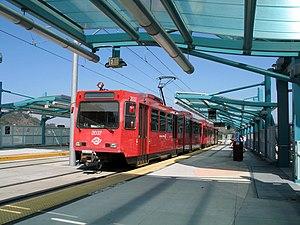 Grantville Trolley Station San Diego Hotel