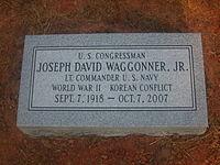 Grave of Joe D. Waggonner IMG 1460.JPG