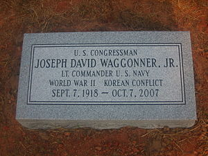 Grave of Joe D. Waggonner IMG 1460