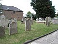 Gravestones in the churchyard at St Mary's, Alverstoke - geograph.org.uk - 1424976.jpg