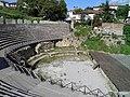 Greek Theatre built in 200 BC, Lychnidos, Ohrid, Republic of Macedonia FYROM (8398177748).jpg