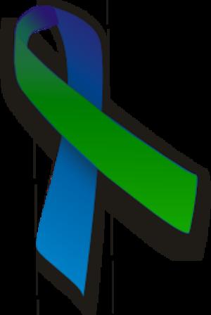 Green ribbon - Image: Green blue ribbon