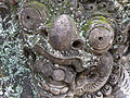 Green old head in Bali.JPG