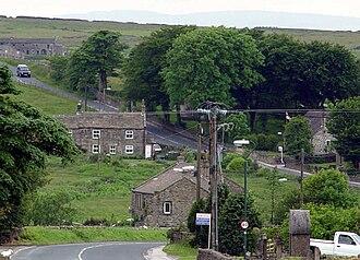 Greenhow - Image: Greenhow village 2003
