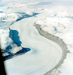 Polar ice stream