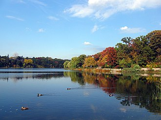 High Park - Grenadier Pond is a large body of water located at the western edge of High Park.