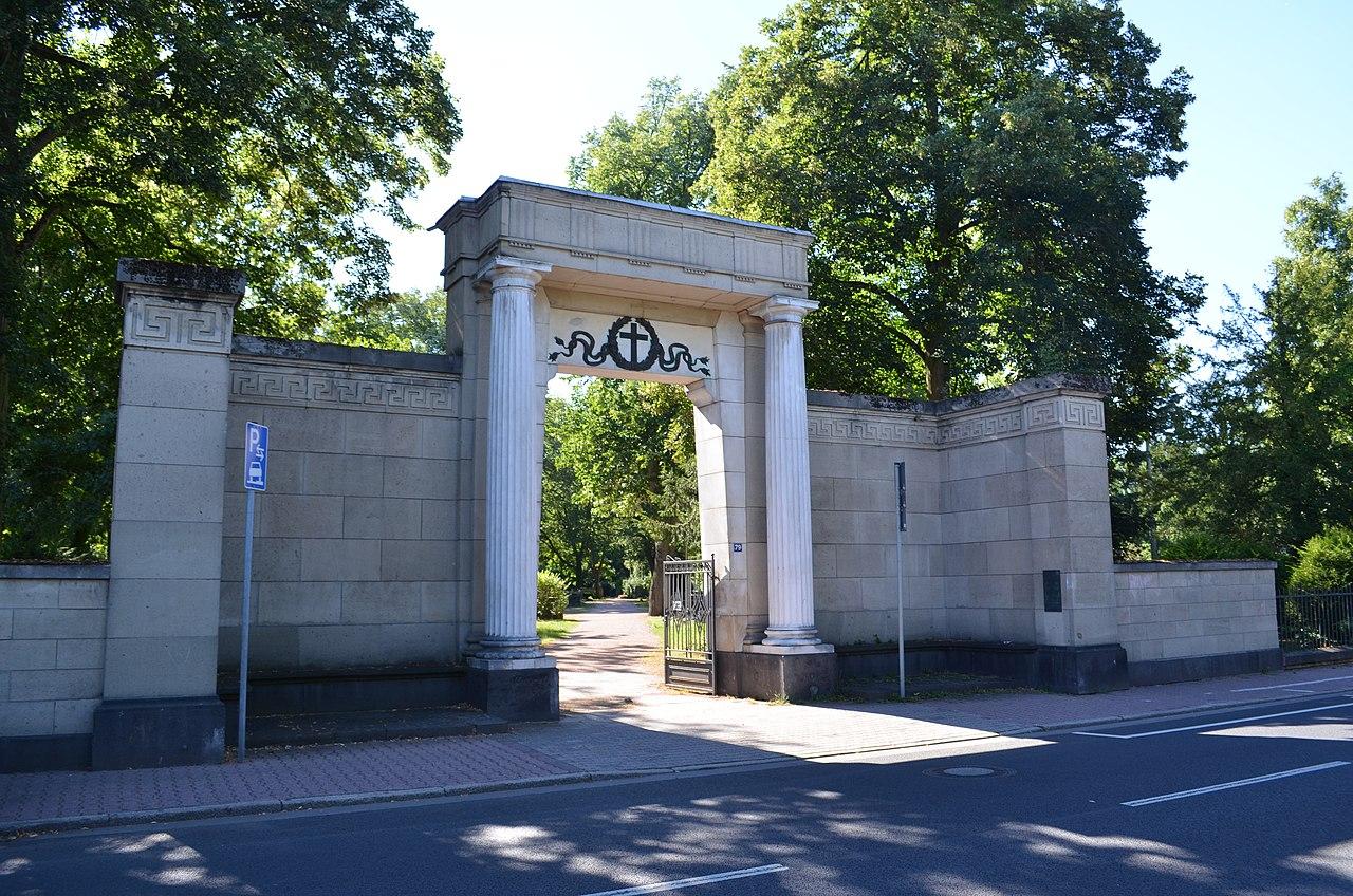 Datei Griesheim Friedhof Portal Jpg Wikipedia