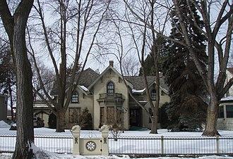 Morningside, Minnesota - The Jonathan Taylor Grimes House