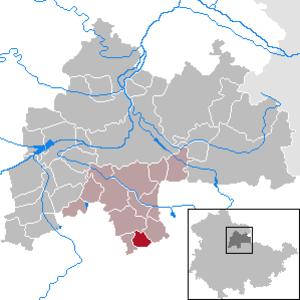 Großmölsen - Image: Großmölsen in SÖM