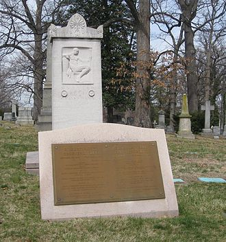 Rock Creek Cemetery - Gravesite of Gilbert Hovey Grosvenor
