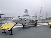 Grumman F9F Cougar USS Lexington.JPG