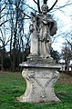 GuentherZ 2012-12-01 0283 Stockerau Josef-Wolfik-Straße Statue Johannes Nepomuk.jpg