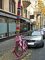 Guerilla knitting Kassel Germany.JPG