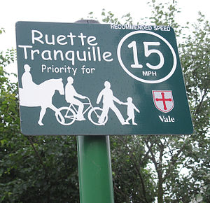 Transport in Guernsey - Ruette Tranquille