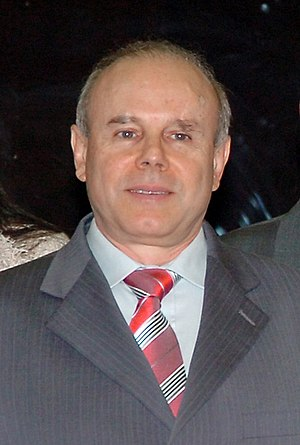 Currency war - Brazilian Finance Minister Guido Mantega, who made headlines when he raised the alarm about a currency war in September 2010.