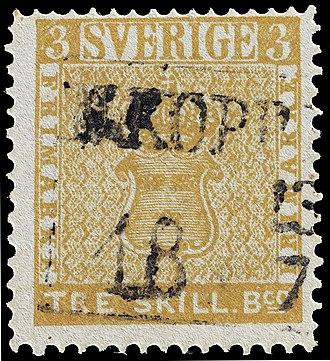 Philipp von Ferrary - Image: Gul tre skilling banco