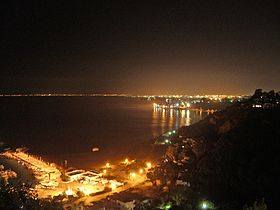 Gulf of Tunis by night.jpg