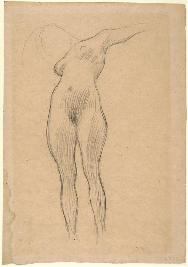 Floating Woman with Outstretched Arm