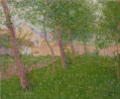 GustaveLoiseau-1890-The Garden in Front of a House.png
