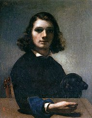 Gustave Courbet - Self-Portrait (Courbet with Black Dog) - WGA05478.jpg