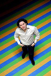 Gustavo Dudamel Venezuelan conductor and violinist