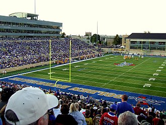 Skelly Field at H. A. Chapman Stadium - Image: HA Chapman Stadium Tulsa