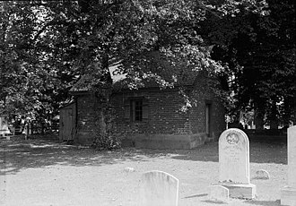 Vestry - St. George's Parish Vestry House built in 1766 at Perryman, Maryland