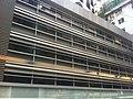 HK Bus 101 tour view 灣仔 Wan Chai 上海實業大廈 Shanghai Industrial Investment Building indoor carpark April-2012.jpg