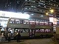 HK Cheung Sha Wan Road 長沙灣道 KMBus 102 九巴 night Oct-2010.JPG