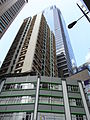 HK Sheung Wan Mandarin Building facade COSCO Tower June-2012.JPG