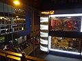 HK Wan Chai 柯布連道 O'brien Road night Kin Lee Building upstair shop window April 2016 Jaffe Road.JPG