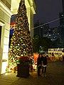 HK Wan Chai night Lee Tung Avenue Johnston Road Xmas tree Dec-2015 DSC (1).JPG