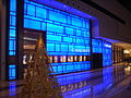 HK West Kln Elements mall shop Chaumet Xmas 2009 light box.JPG