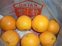 HK fruit a bag of 7 橙 Oranges 佳寶食品 Kai Bo Food May-2012.JPG