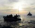 HMS Monmouth's Boarding Team Conducting Counter Piracy Operations MOD 45155254.jpg