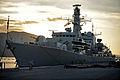 HMS Portland in Soudha Bay, Crete MOD 45149712.jpg