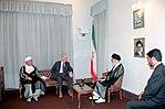 Hafez al-Assad visit to Iran, 1 August 1997 (2).jpg