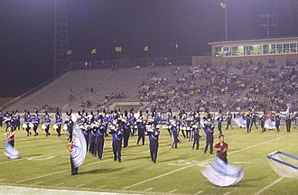 Javelina Stadium - Image: Half time show (2191426399)